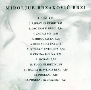 Miroljub Brzakovic Brzi- Diskografija 1997_z10
