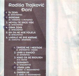 Djani (Radisa Trajkovic) - Diskografija 2 1998_k14