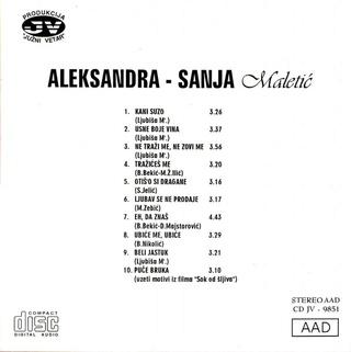Aleksandra Sanja Maletic - Diskografija 1999_z10
