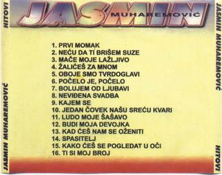 Jasmin Muharemovic - Diskografija 1999_z17