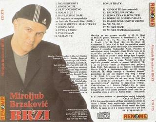 Miroljub Brzakovic Brzi- Diskografija 2000_z10