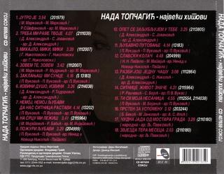 Nada Topcagic - Diskografija 2008_z12