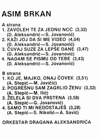 Asim Brkan - Diskografija 2 Asim_b16