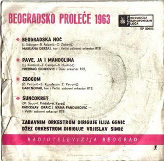 Predrag Gojkovic Cune - Diskografija  Beogra15