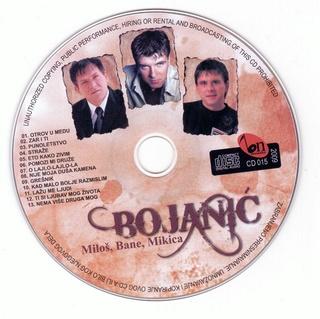 Mikica Bojanic - Diskografija Ce-de210