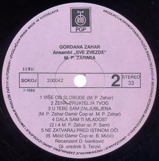 Gordana Lazarevic - Diskografija Gordan57