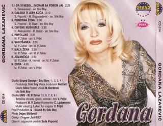 Gordana Lazarevic - Diskografija Gordan68