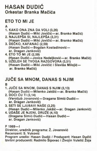 Hasan Dudic - Diskografija Hasan_30
