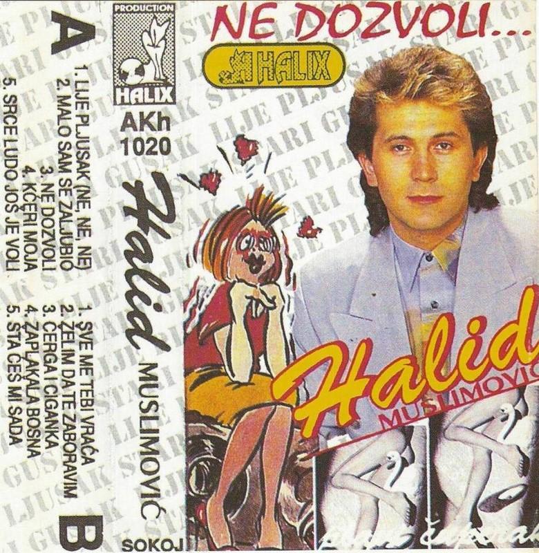 Halid Muslimovic - Diskografija Kaseta26
