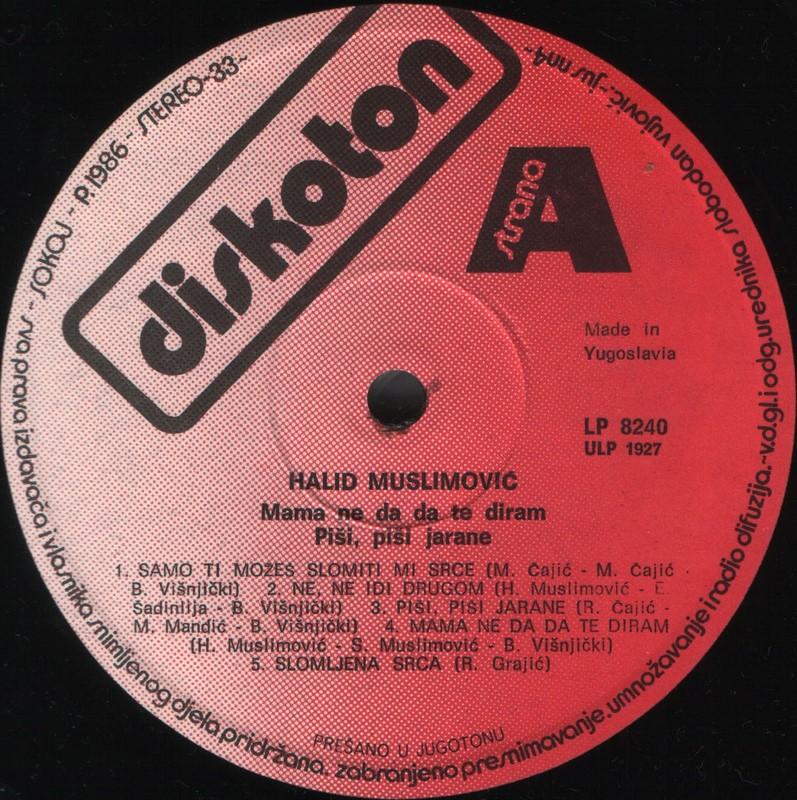 Halid Muslimovic - Diskografija Ploca_20
