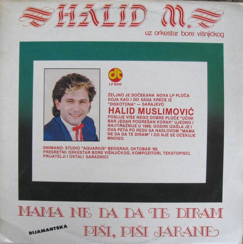 Halid Muslimovic - Diskografija Prednj16