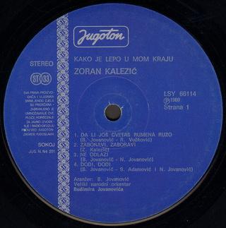 Zoran Kalezic - Diskografija R-102616