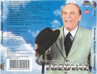 Predrag Zivkovic Tozovac - Diskografija R-105912