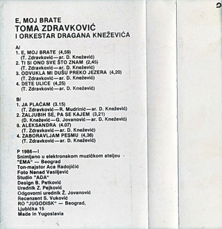 Toma Zdravkovic - Diskografija R-106711