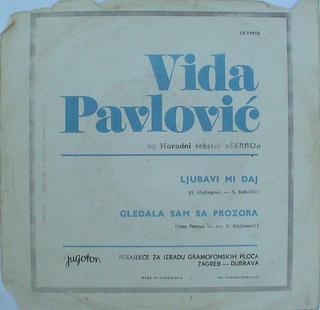Vida Pavlovic - Diskografija 2 R-107717