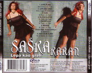 Saska Karan - Diskografija  R-108212