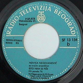 Novica Negovanovic - Diskografija R-108521