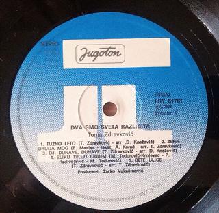 Toma Zdravkovic - Diskografija R-109714