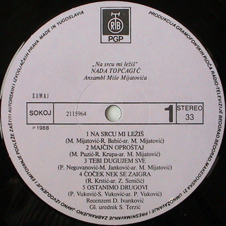 Nada Topcagic - Diskografija R-110312