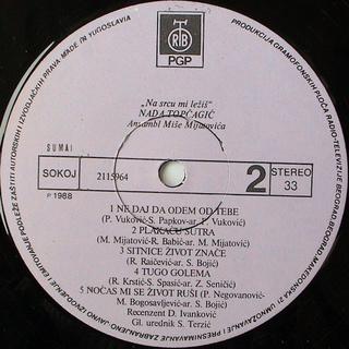 Nada Topcagic - Diskografija R-110313