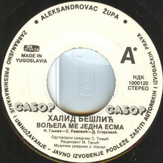 Halid Beslic - Diskografija R-111111