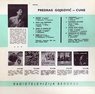 Predrag Gojkovic Cune - Diskografija  R-111417