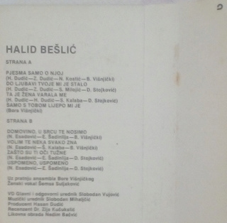 Halid Beslic - Diskografija R-113116