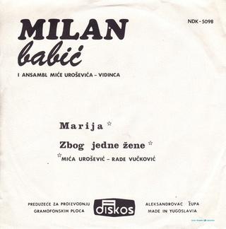 Milan Babic - Diskografija 2 R-116014