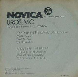 Novica Urosevic - Diskografija  R-116113