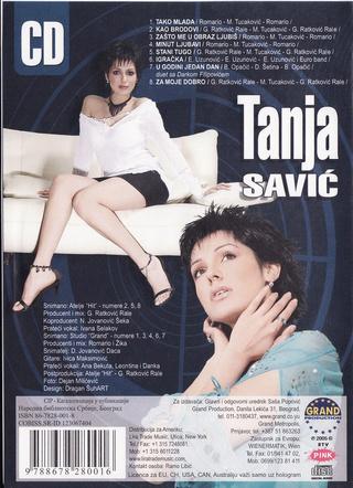 Tanja Savic - Diskografija R-117916