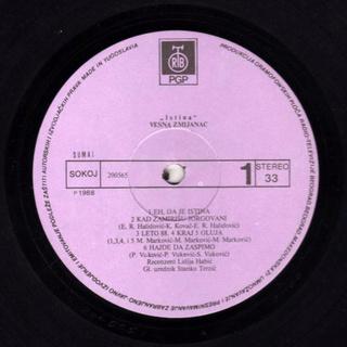 Vesna Zmijanac - Diskografija R-137810