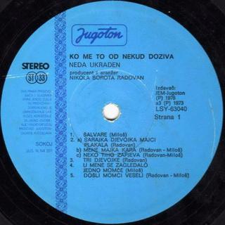 Neda Ukraden - Diskografija  R-138616
