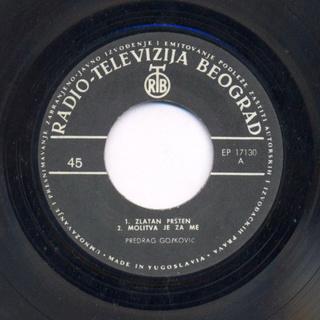 Predrag Gojkovic Cune - Diskografija  R-140815