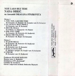 Nada Obric - Diskografija  R-167510