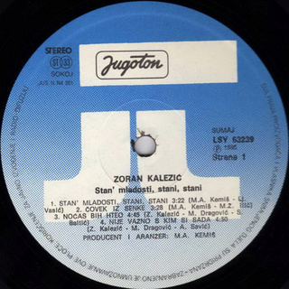 Zoran Kalezic - Diskografija R-168112
