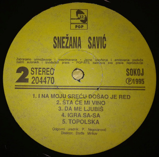 Snezana Savic - Diskografija R-168320