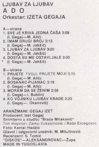 Ado Gegaj - Diskografija  R-169612