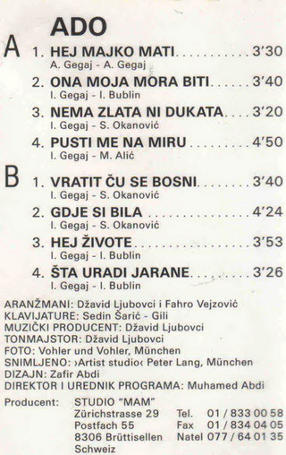 Ado Gegaj - Diskografija  R-169712
