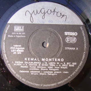 Kemal Monteno - Diskografija  R-171911