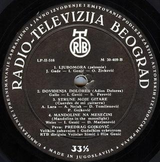 Predrag Gojkovic Cune - Diskografija  R-175611