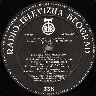 Predrag Gojkovic Cune - Diskografija  R-175616