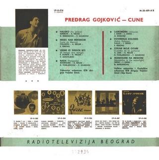 Predrag Gojkovic Cune - Diskografija  R-175617