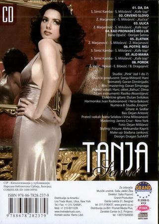 Tanja Savic - Diskografija R-191410