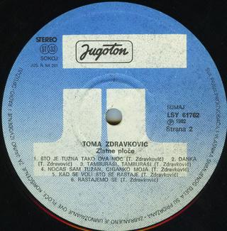 Toma Zdravkovic - Diskografija R-197526