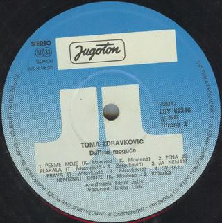 Toma Zdravkovic - Diskografija R-197541
