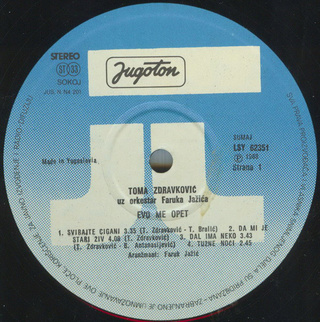Toma Zdravkovic - Diskografija R-197543