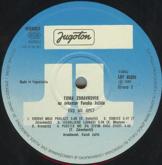 Toma Zdravkovic - Diskografija R-197544