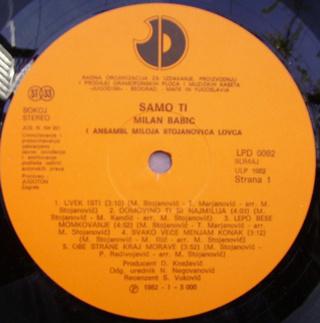 Milan Babic - Diskografija 2 R-199311