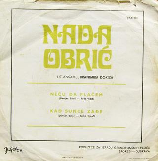 Nada Obric - Diskografija  R-201933
