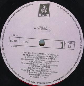 Vesna Zmijanac - Diskografija R-202910